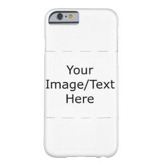 Coque Barely There iPhone 6 Votre cas fait sur commande de téléphone