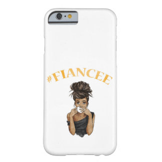 Coque Barely There iPhone 6 Vous serez ma carte de demoiselle d'honneur -