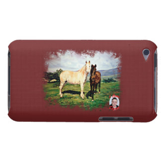 Coque Barely There iPod Chevaux/Cabalos/Horses