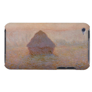 Coque Barely There iPod Claude Monet | Grainstack, Sun dans la brume