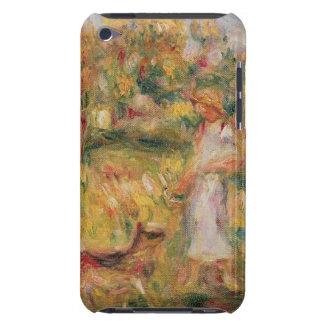 Coque Barely There iPod Pierre un paysage de Renoir | avec l'épouse de