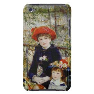 Coque Barely There iPod Pierre un Renoir | deux soeurs, ou sur la terrasse