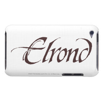 Coque Barely There iPod Solide nommé d'ELROND™