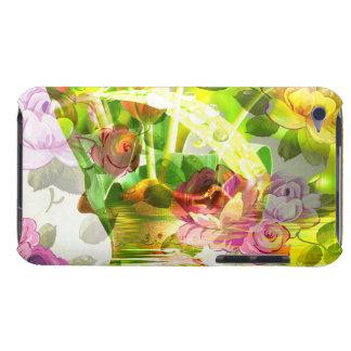 Coque Barely There iPod Une autre belle scène des fleurs - art mélangé !