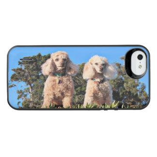 Coque Batterie Pour iPhone SE/5/5s Épuisement - caniches - Romeo Remy