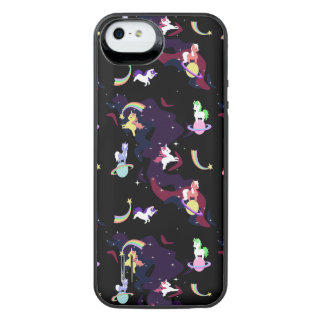 licorne de kawaii coques iphone 5 se 5 ou 5s zazzle. Black Bedroom Furniture Sets. Home Design Ideas