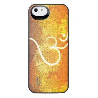 Coque Batterie Pour iPhone SE/5/5s Motif indien d'ornement avec le symbole d'ohm
