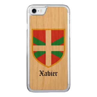 Coque Carved iPhone 8/7 Drapeau de pays Basque
