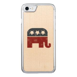 Coque Carved iPhone 8/7 éléphant républicain