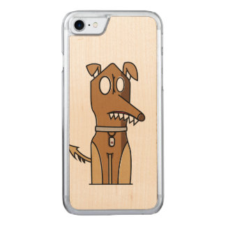 Coque Carved iPhone 8/7 Illustration de chiot