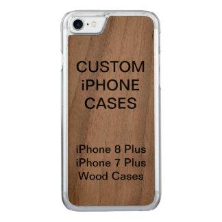 Coque Carved iPhone 8/7 iPhone en bois personnalisé par coutume 8/7 cas