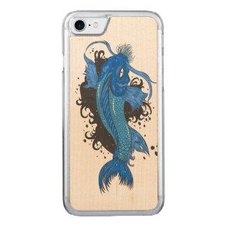 Coque Carved iPhone 8/7 Japonais coloré Koi
