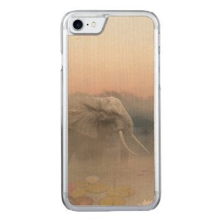 Coque Carved iPhone 8/7 L'éléphant
