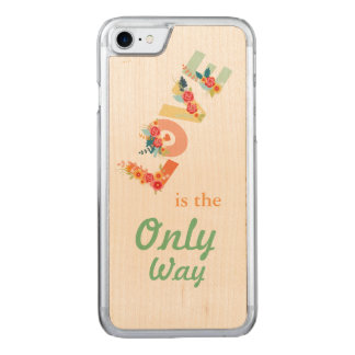 Coque Carved iPhone 8/7 Love, the only way.