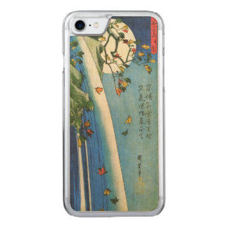 Coque Carved iPhone 8/7 Lune de Hiroshige au-dessus des beaux-arts de