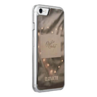 Coque Carved iPhone 8/7 Noël fait sur commande, vacances, décorations