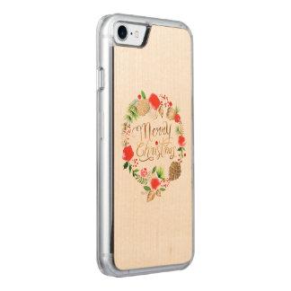 Coque Carved iPhone 8/7 Noël, vacances, décorations, célébration