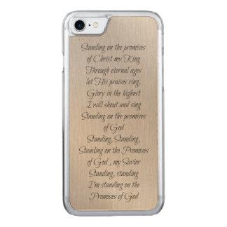 Coque Carved iPhone 8/7 Position sur les promesses de Dieu