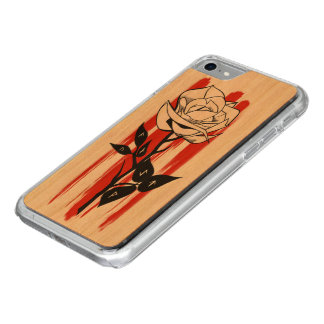 Coque Carved iPhone 8/7 rose