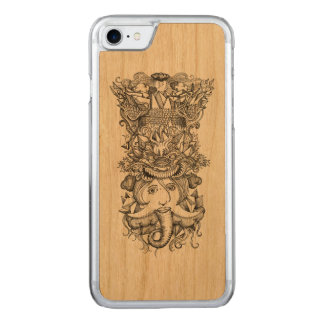 Coque Carved iPhone 8/7 Totem de foudre de vol