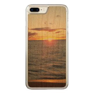 Coque Carved iPhone 8 Plus/7 Plus Cas de téléphone de coucher du soleil de Maui