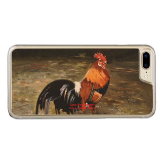 Coque Carved iPhone 8 Plus/7 Plus Coq/Gaulois/Rooster
