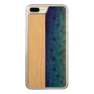 Coque Carved iPhone 8 Plus/7 Plus couche adesivado et bois