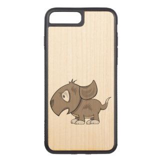 Coque Carved iPhone 8 Plus/7 Plus Illustration de chiot