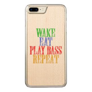 Coque Carved iPhone 8 Plus/7 Plus Le sillage mangent la répétition BASSE de JEU