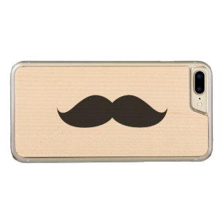 Coque Carved iPhone 8 Plus/7 Plus Moustache noire drôle mignonne
