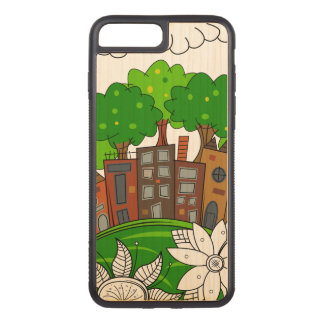 Coque Carved iPhone 8 Plus/7 Plus Petite illustration de ville