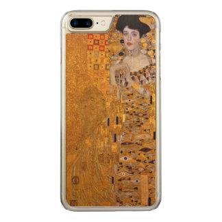 Coque Carved iPhone 8 Plus/7 Plus Portrait de Gustav Klimt de cru d'Adele GalleryHD