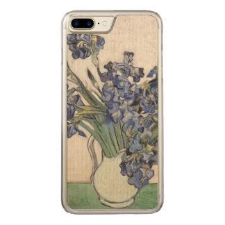 Coque Carved iPhone 8 Plus/7 Plus Vincent van Gogh irise les beaux-arts 1890 de
