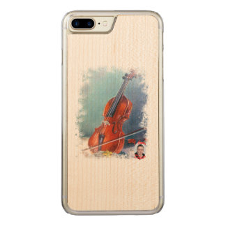 Coque Carved iPhone 8 Plus/7 Plus Violon/Violon