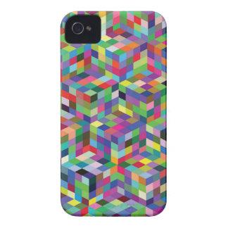 Coque Case-Mate iPhone 4 arrière - plan coloré