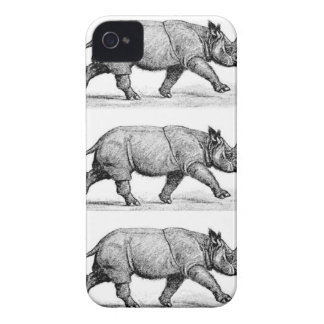 Coque Case-Mate iPhone 4 Art courant de rhinocéros