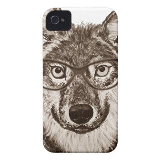 Coque Case-Mate iPhone 4 Art de ballot de loup