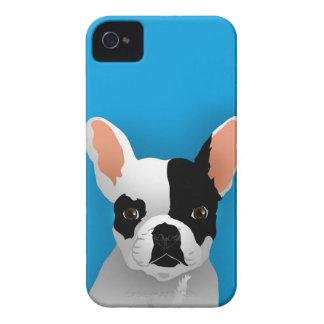 Coque Case-Mate iPhone 4 Art de bouledogue - bouledogue français