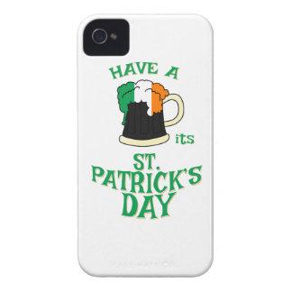 Coque Case-Mate iPhone 4 Ayez une BIÈRE son Jour de la Saint Patrick