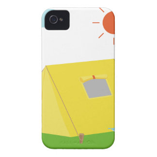 Coque Case-Mate iPhone 4 Bande dessinée de terrain de camping