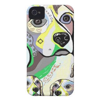 Coque Case-Mate iPhone 4 Beagle et palette de couleurs molle de bébés
