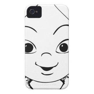 Coque Case-Mate iPhone 4 beau heureux de bébé de joie animale mignonne