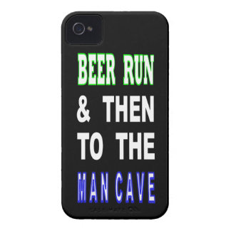 Coque Case-Mate iPhone 4 Bière courue et puis à la caverne d'homme