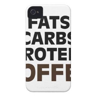 Coque Case-Mate iPhone 4 Café de protéine de glucides de graisses