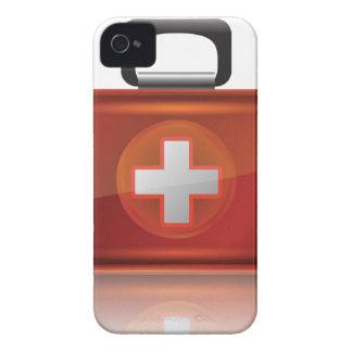Coque Case-Mate iPhone 4 Caisse rouge