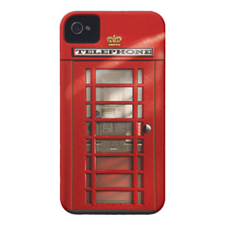 Coque Case-Mate iPhone 4 Caisse rouge britannique classique de l'iPhone 4