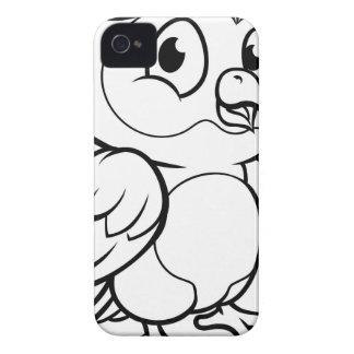 Coque Case-Mate iPhone 4 Caractère de hibou de bande dessinée