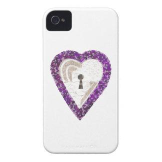 Coque Case-Mate iPhone 4 Cas d'IPhone 4 de coeur de casier