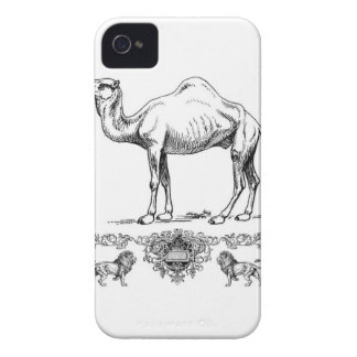 Coque Case-Mate iPhone 4 chameau de fantaisie de lion
