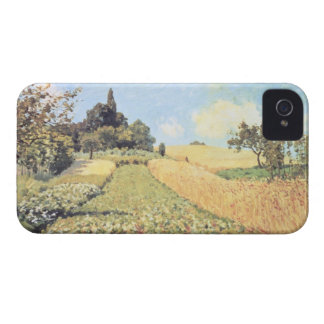 Coque Case-Mate iPhone 4 Champ de blé d'Alfred Sisley |